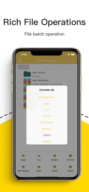 Unzip zip rar 7z extract on the App Store