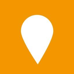 Pyfl - Favorite places map
