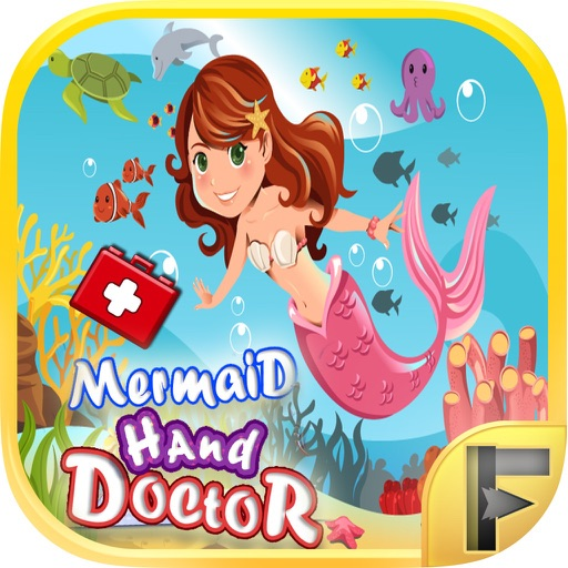 Little Mermaid Hand Doctor