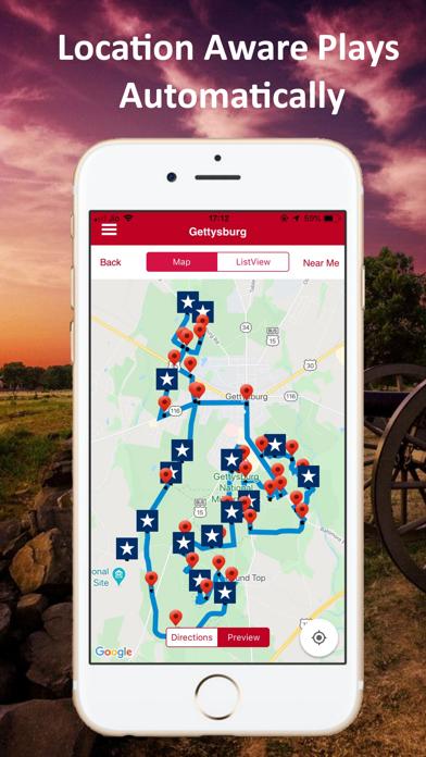 Gettysburg Battle Auto Tour Screenshot