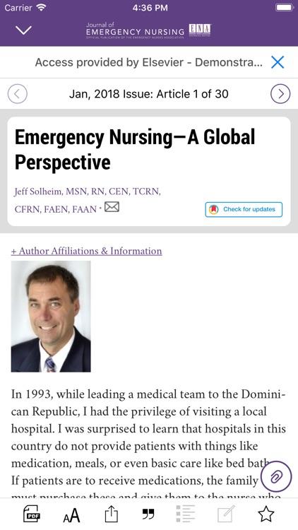 Journal of Emergency Nursing screenshot-4