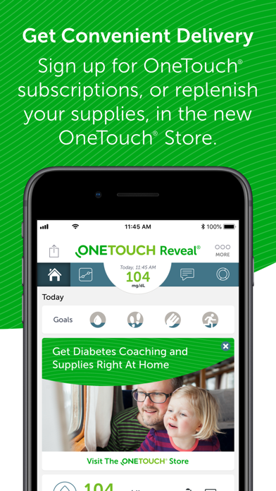 messages.download OneTouch Reveal software