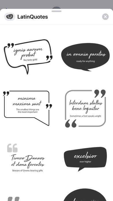 Screenshot for Latin Quotes and Sayings in United States App Store