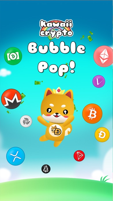 Kawaii Crypto Bubble Pop screenshot 1