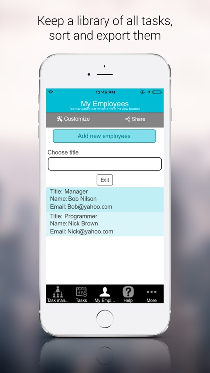 Task Manager Tracker screenshot-3