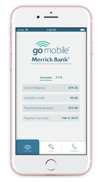 Merrick Bank Mobile screenshot-2