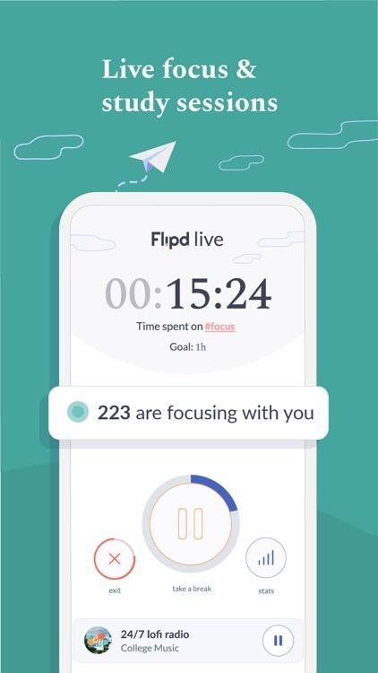 Flipd #1 Productivity Timer