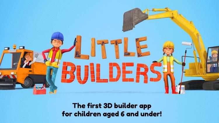 Little Builders for Kids screenshot-0