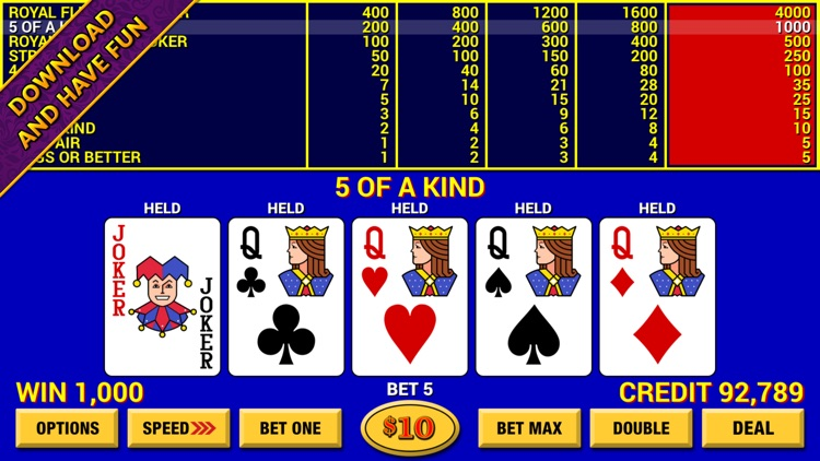 Video Poker Lounge screenshot-4