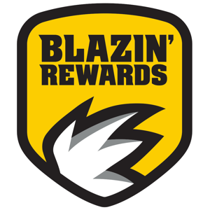 Blazin' Rewards Food & Drink app