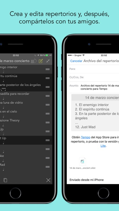 Screenshot for Tempo Metrónomo con repertorio in Chile App Store