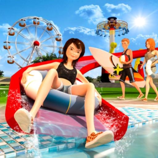 Water Slide: Amusement Park 3D
