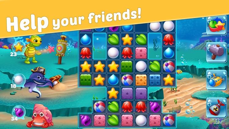 Reef Rescue: Match 3 Adventure screenshot-6