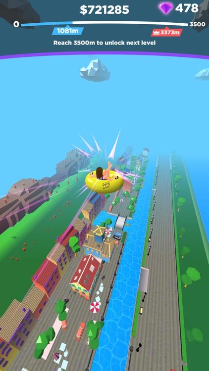 Uphill Rush: Slide Jump