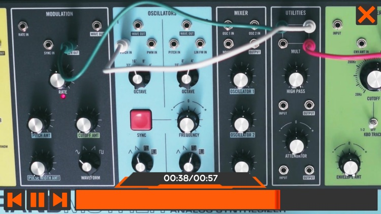 Moog Grandmother Course By AV screenshot-3