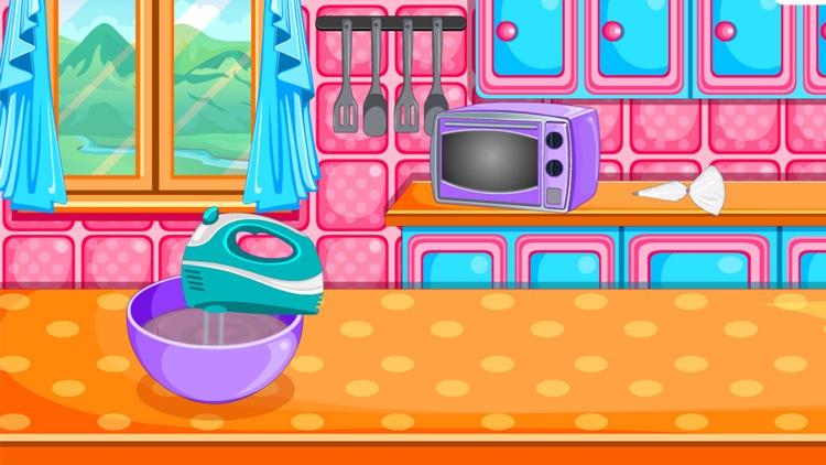 Baking black forest cake games screenshot-3