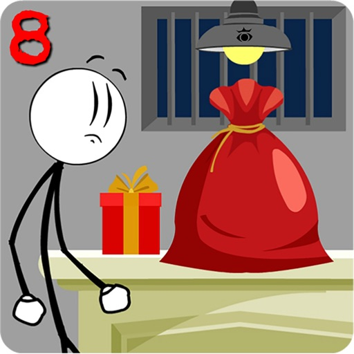Стикмен побег из тюрьмы 8