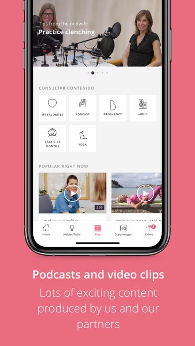 Pregnancy App | PreglifeScreenshot of 6