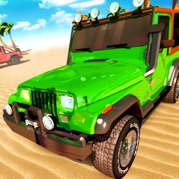 Stunt Car Jeep Racing Tracks