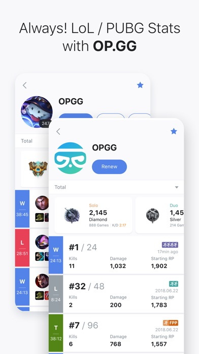 Screenshot for OP.GG in United States App Store