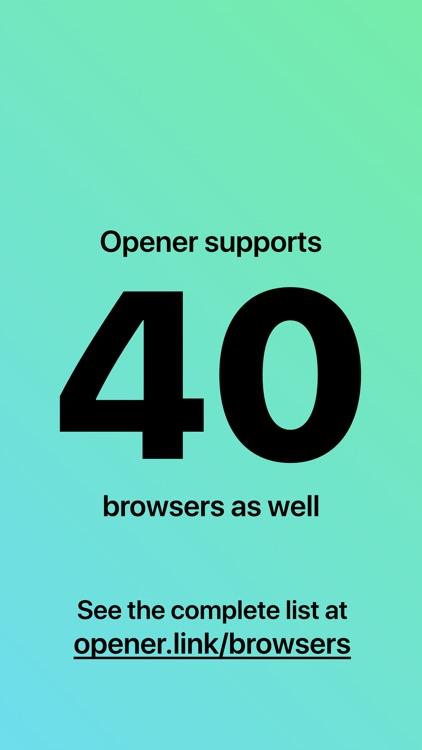 Opener ‒ open links in apps screenshot-3