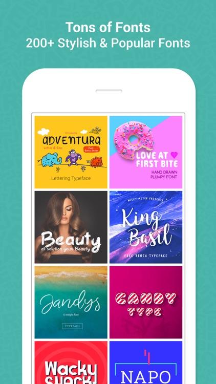 Add Text To Photos – Fonts Art screenshot-3