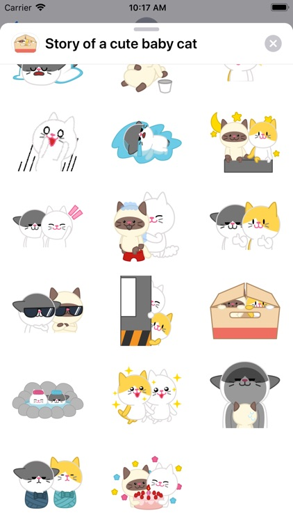 Story of a cute baby cat ver.2