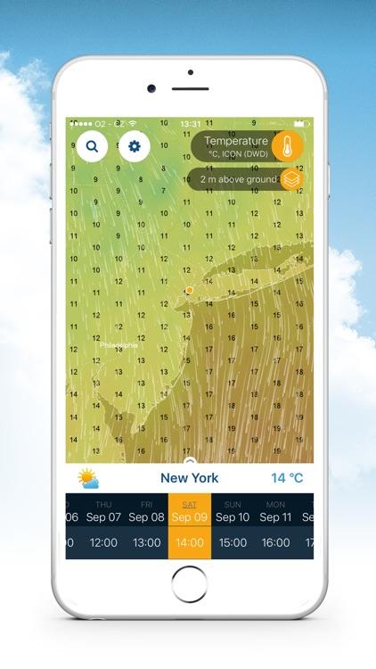 Ventusky: Weather Maps screenshot-4