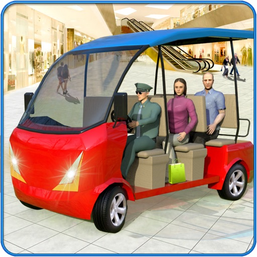 Shopping Mall Taxi Simulator