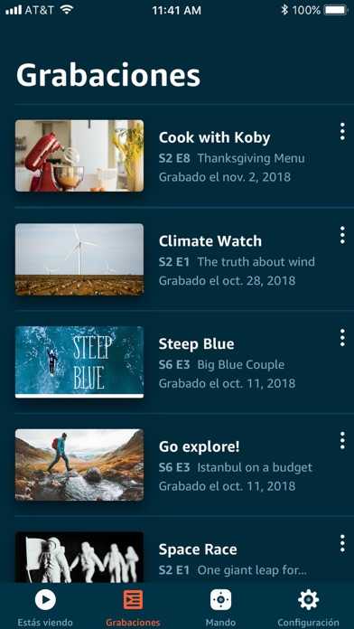 Screenshot for Amazon Fire TV in Colombia App Store