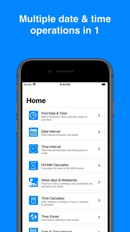 Date & Time Interval screenshot-9