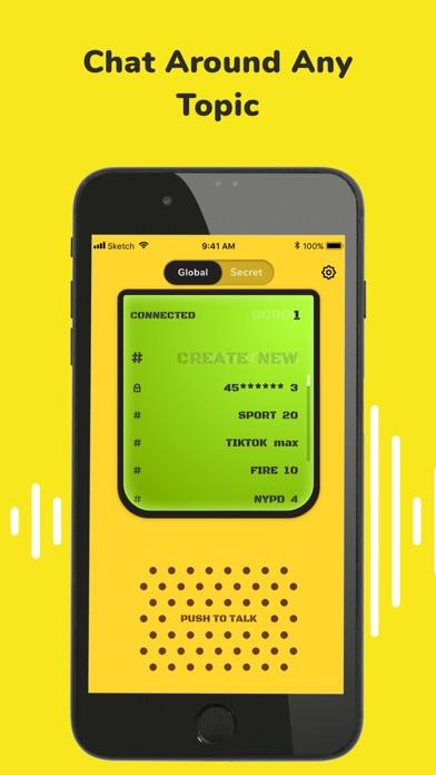 تطبيق «ووكي تاكي» للأصدقاءلقطة شاشة7