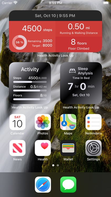 Health Widget – Steps Counter screenshot-7