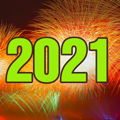 2021 - Happy New Year Cards icon