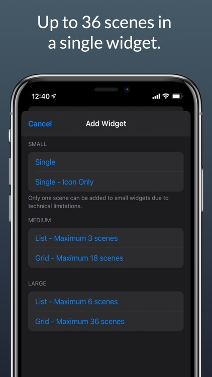 HomeWidget for HomeKit screenshot-4