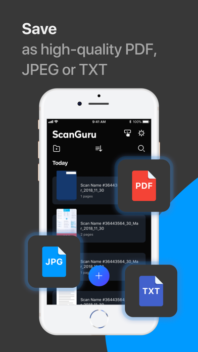 ScanGuru: PDF - Scanner Screenshot