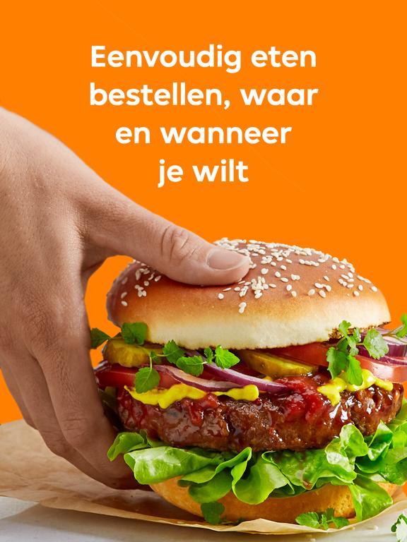 Thuisbezorgd.nl iPad app afbeelding 1