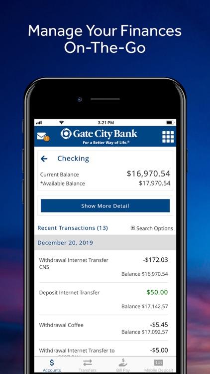 Gate City Bank Mobile screenshot-4