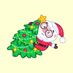 X-mas Santa & Deer