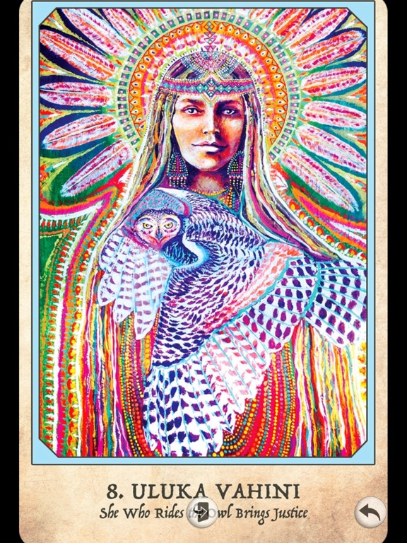 Earth Warriors Oracle Cards screenshot 15