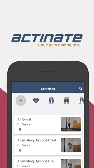 SmartGym powered by actinate screenshot #1