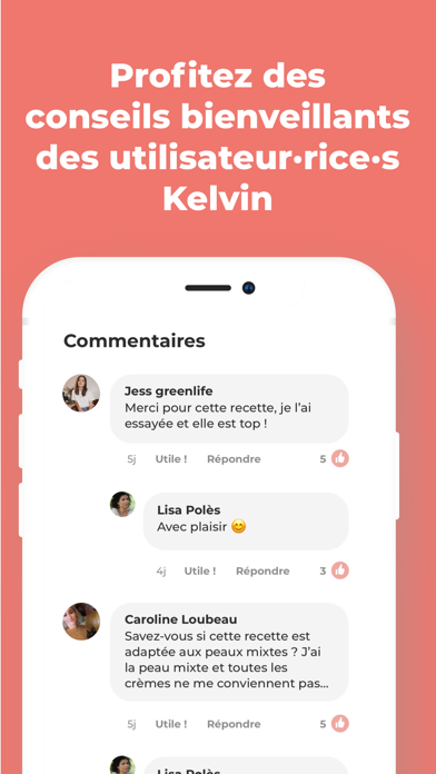messages.download Kelvin - app DIY & zero dechet software
