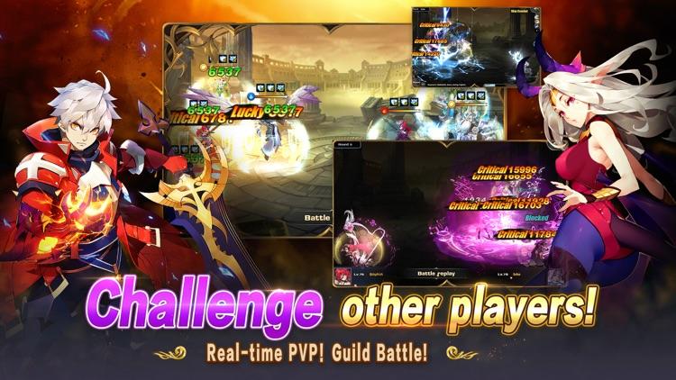 Fantasy Legend:War of Contract screenshot-4
