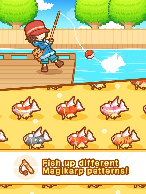 Pokémon: Magikarp Jump iPad app afbeelding 4