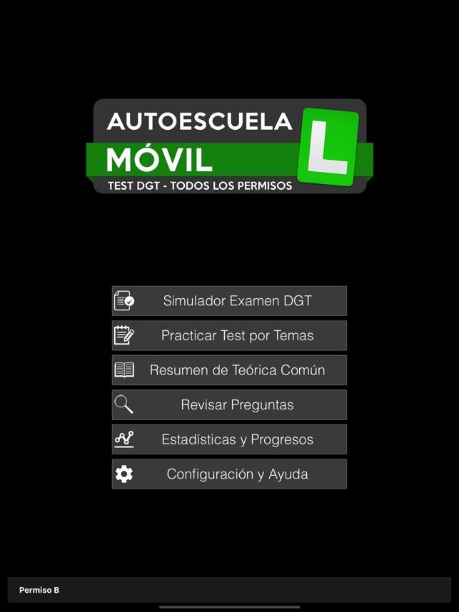 Autoescuela Movil Test Dgt Di App Store