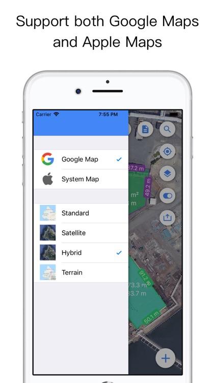 Planimeter Pro for map measure screenshot-5
