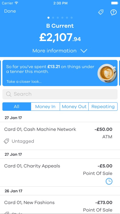 B – manage your money