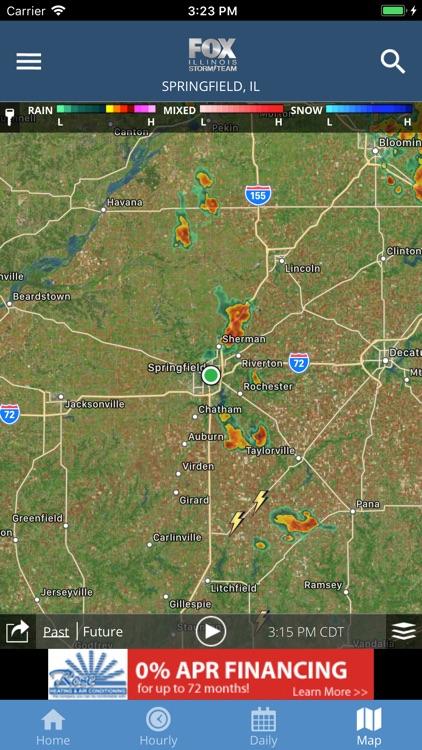 Fox Illinois Weather App screenshot-3