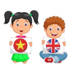 Học Chữ Cái Song Ngữ Anh Việt