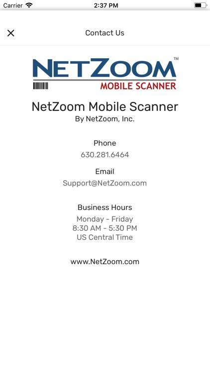 NetZoom Mobile Scanner screenshot-4